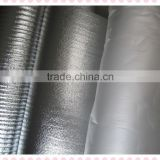 sunproof Aluminum film & PP cotton Reflective fabric,car cover fabric at factory price