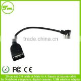 20 cm usb 2.0 cable A Male to A female extension cable for Notebook computers, digital cameras, USB wireless adapter