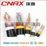 Made in China Ruixin Group 0.6/1kv 4 core Copper Conductor PVC Insulated PVC / PE Jacket underground cable route markers
