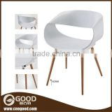 For Sale Round Egg Plastic Side Chair White