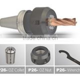 Inquiry about ISO30-OZ25 Spring Collet Chuck Tool Holders