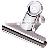 Hot selling high quality spring metal clip for stationary accessories advertising paper clips