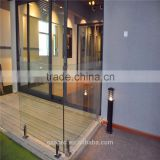 new design frameless glass balustrade aluminum balcony railing for outdoor stairs handrails