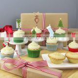 Christmas Cake Toppers Decorations Pick Christmas Cake Decorations & Cupcake Toppers