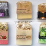 natural handmade soap and Loofah skin care, loofah soap
