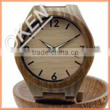 Wood grain dail watch