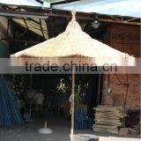 CHEAP THATCH UMBRELLA/SEAGRASS UMBRELLA/PALM LEAF UMBRELLA & ROLLS - VIETNAM - candy@gianguyencraft.com (MS CANDY)