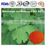 Manufacture supply high quality Feed additive Macleaya Cordata Extract sanguinarine 40% chelidonine 20%