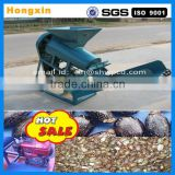 Hot sale castor bean shelling machine with diesel engine/automatic castor shelling machine