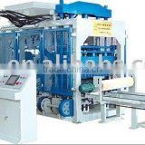 QT12-15 fully Automatic Concrete Cement Brick Making Machinery, paving brick making machine, curb brick machine