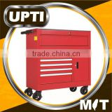 Taiwan Made High Quality 7 Drawer Rolling Tool Unit Cabinet Cart Workshop Trolley Cart Storage Tool