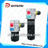 Manufacturer Supplier From DFFILTRI :XDFM Medium Presure Line Filters without clogging indicator and bypass valve