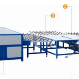 Horizontal Warm Edge Spacer Insulating Glass Processing Line