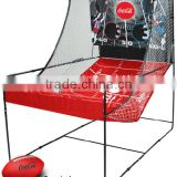 Outdoor Children Play Ball Cast Nets\Protable Football Cast Net Stand Set\Soccer Ball Play Auto Cast Net Stand for Kids