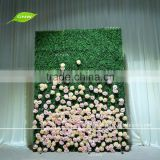GNW FLW1606004 High Quality Competitive Price Artificial Flower Wall Green Backdrop Wall