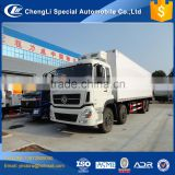 12 wheeler 8*4 new heavy duty 40cbm 45 50 55 CBM frozen meat truck