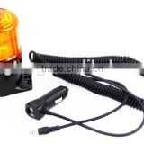 12v 24v LED Beacon Light Rotating Beacon Light Magnetic 2400MA Rechargeable Battery Light