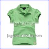 Wholesale factory direct cheap price bright colored fashion design maker women polo shirt