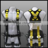 ppe safety equipment rescue harness 3 point/4 point/5 point made by Ningbo and Hangzhou factory