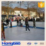 4x8 plastic skating sheet/ portable hockey training board/synthetic ice rink