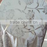 2014 hot sale tablecloth, 100% polyester spun velvet bonding flocking brushed fabric,hometex fabric