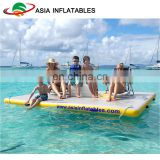 Outdoor balance beam for home / inflatable air track / durable floating water mat