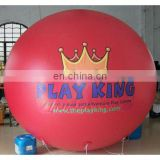 6m red Inflatable PVC balloon/helium balloon/promotional balloon/ PVC advertising balloon/helium cube/sphere/event ball/blimp