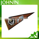 Wholesale custom logo design hanging football club fans mini pennant flag