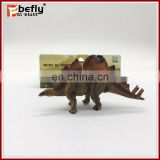 Simulation dinosaur toy mini plastic Stegosaurus model