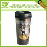 Top Quality Logo Print Double Wall Auto Mug