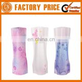 Fashion Foldable PVC Plastic Collapsible Flower Vase