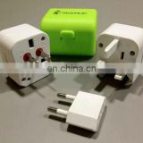 Combined plug adapter