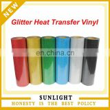 Giltter heat transfer film for t-shirt cotton fabric wholesale