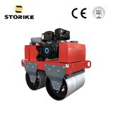 0.5Ton Hand Held/Push Two Drums Vibratory Pavement Compactor Road Roller