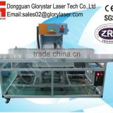 3D Dynamic focus large-scale laser marking machine for jeans effect like whisker GLD-275 with Germany metal laser tube