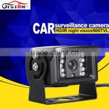 Wolesale hd ccd camera car parking camera night vision infrared waterproof rear view camera