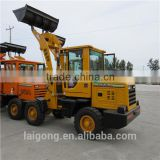 construction machinery small wheel loader with many attachements