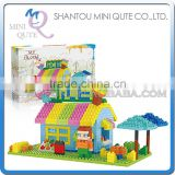 Mini Qute Lele Brother kawaii Ice cream shop kids gift plastic building blocks cartoon model educational toy NO.8213