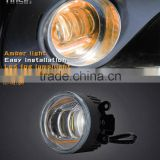 Factory price High Quality High Brigtness car light Universal drl daytime running led fog light for Toyota