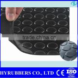 Round button rubber mat rubber car mat rubber garage floor mat                                                                         Quality Choice