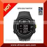 Electronic Caddie Watch Style GPS Golf Rangefinder with 30,000 World Course