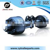 ZY Brand 14T German Type Spoke Axle For Semi Trailer