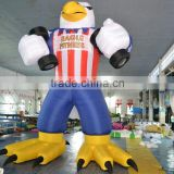 hot sale inflatable parrot,inflatable model china factory