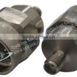 China supply High frequency male/female cable N/SMA stainless steel adaptor, RF connector
