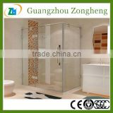 Hinge Door Clear View FrameTempered Glass Shower Enclosure