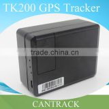 vehcile gps tracker kit 3 year Long standby spy equipment with Minimum Power Consumption LBS and GPS tracking TK200