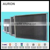 AURON/HEATWELL stainless steel 304l electric AC auxiliary heater /ss 304L AC finned heater/ss 304 air heating panel pipes