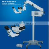 Operational Ophtalmic microscope with double oculars/Orthopedics/Burns and Plastic Surgery