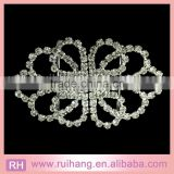 diamond crystal rhinestone pair clasp buckles embellishment for wedding invitations                                                                         Quality Choice