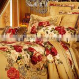 Luxury Hot Sale 23MM Printed Silk Bedding Sets,100% Charmeuse Silk                                                                         Quality Choice